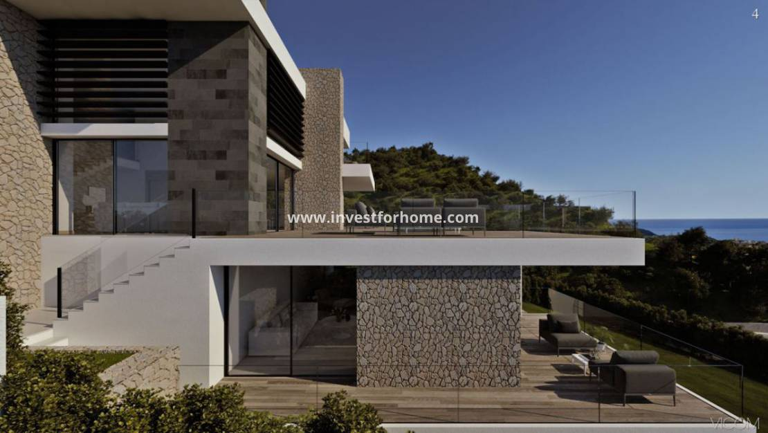 New Build - Detached Villa - Benitachell - Poble Nou - Cumbre del Sol