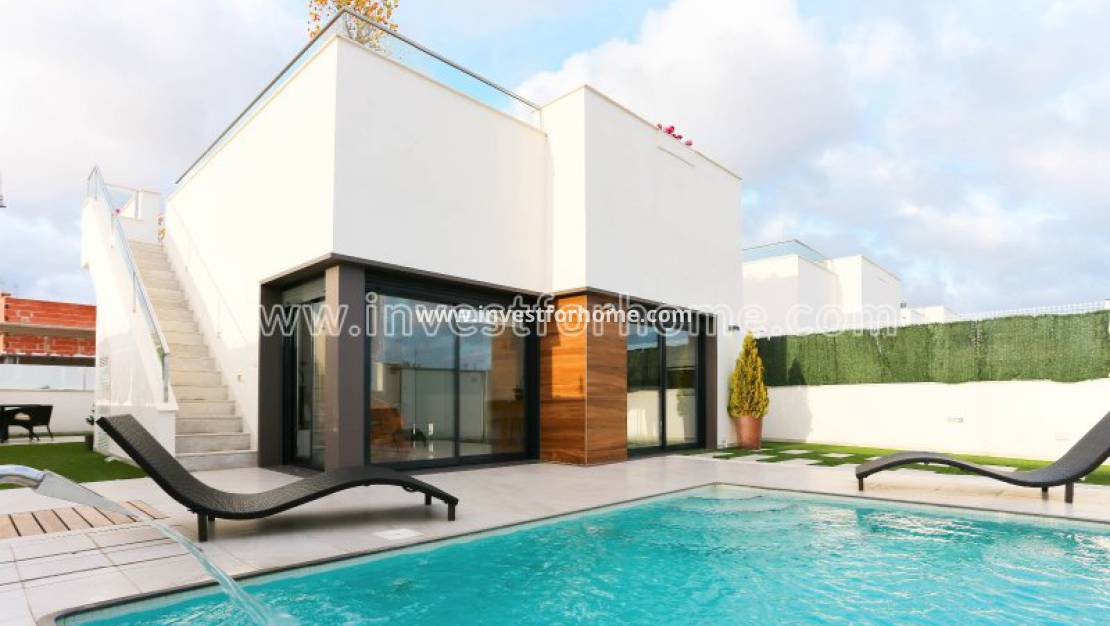 New Build - Detached Villa - San Javier
