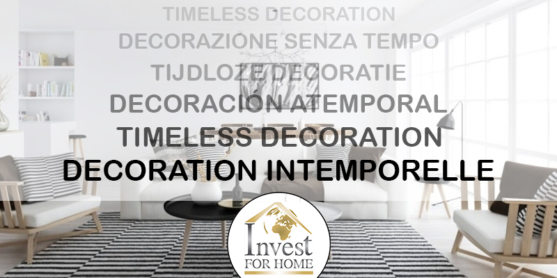 DECORATION INTEMPORELLE