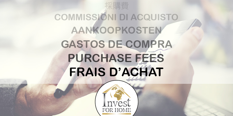 Purchase fees in Spain